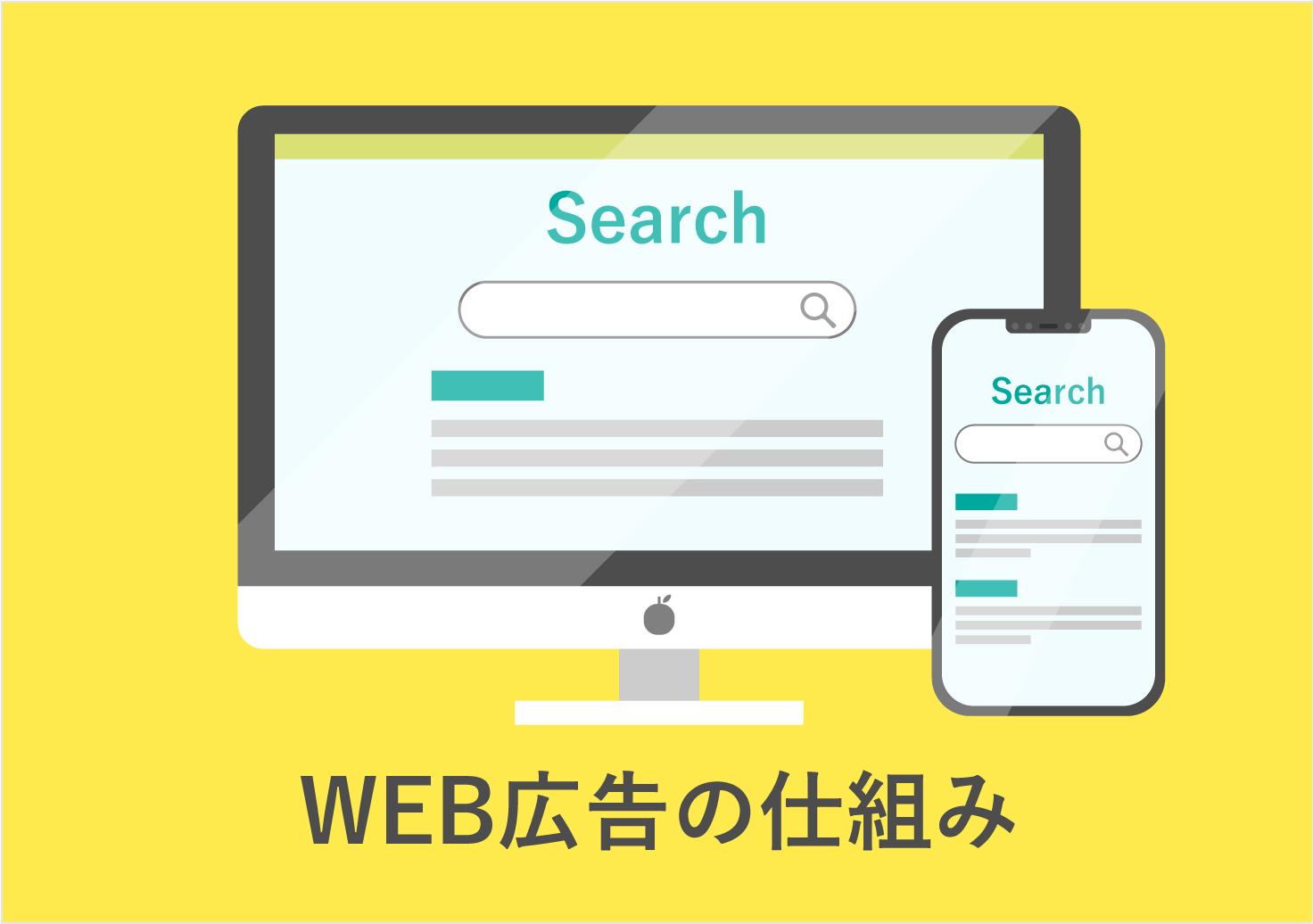 リスティング広告で見るWEB広告の仕組み